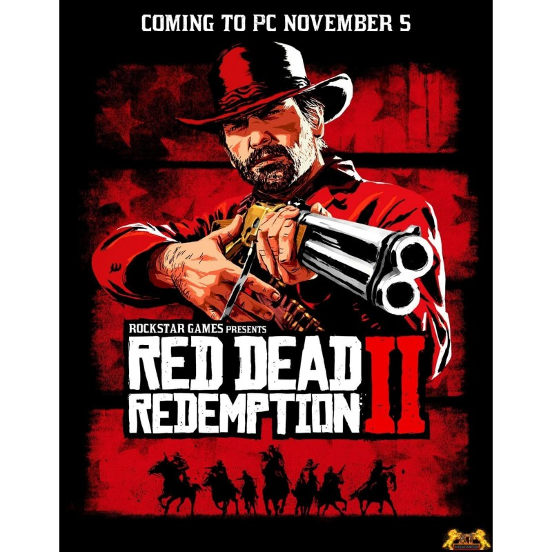 سی دی کی اشتراکی Red Dead Redemption 2 Ultimate Edition