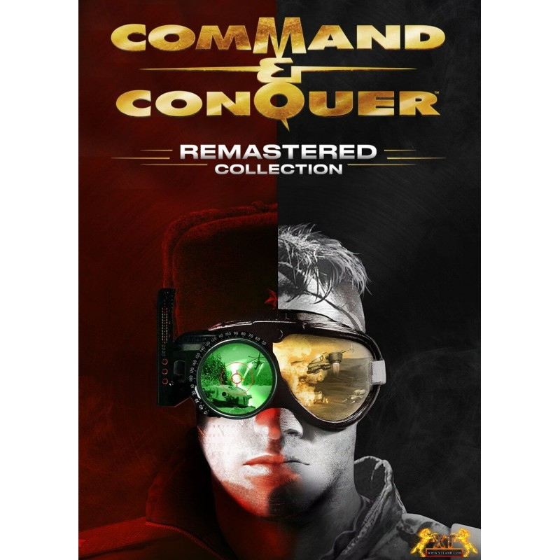 سی دی کی اشتراکی Command & Conquer Remastered Collection