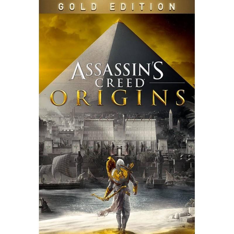 سی دی کی اشتراکی Assassin's Creed Origins Gold Edition