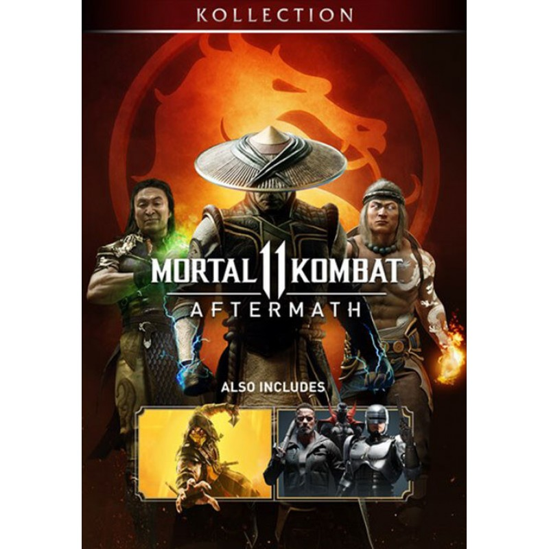 سی دی کی اشتراکی Mortal Kombat 11 Aftermath